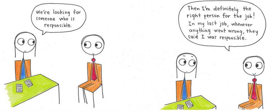 Job cartoon