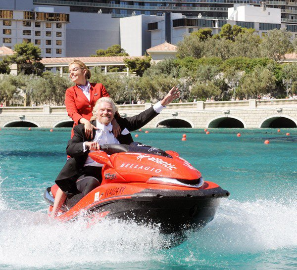 richard branson PR stunts
