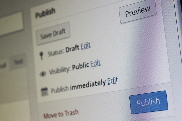 wordpress publish