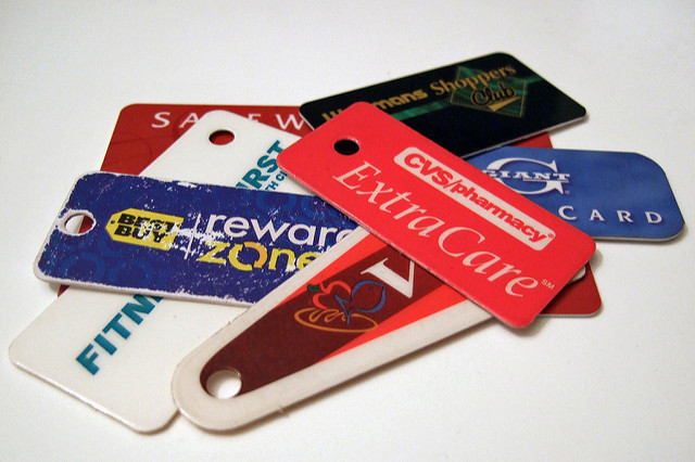 frequent buyer cards, loyalty programs, rewards cards