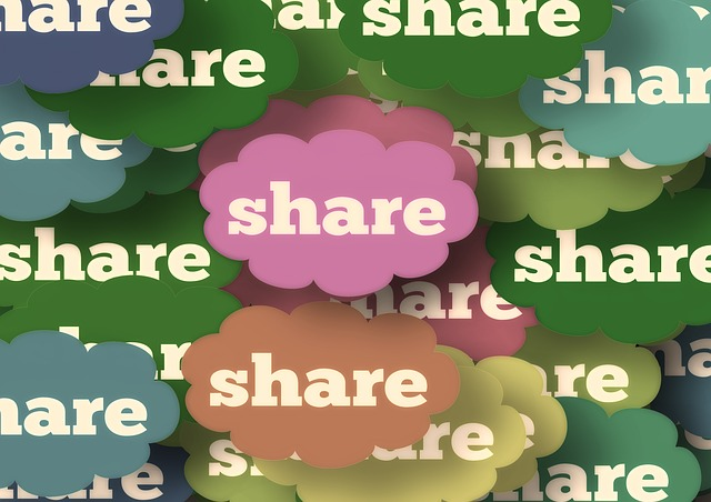 social media sharing research