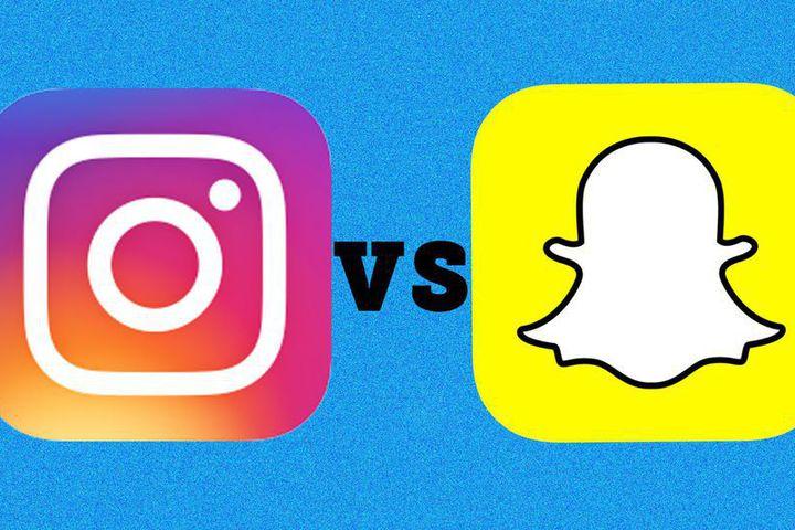 snapchat vs instagram marketing & PR pros & cons