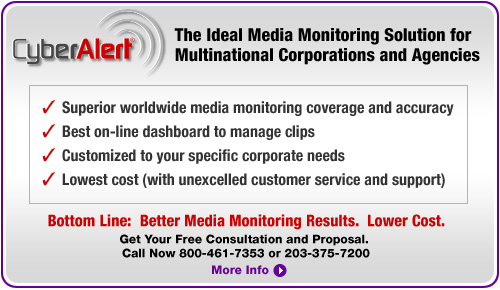 The Ideal Media Monitoring Solution for Multinational Corporations and Agencies