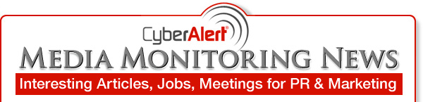 CyberAlert: Nobody Monitors and Measures the Media Better