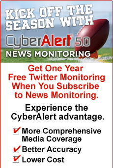 Kick Off Your Season with Cyberalert News Monitoring