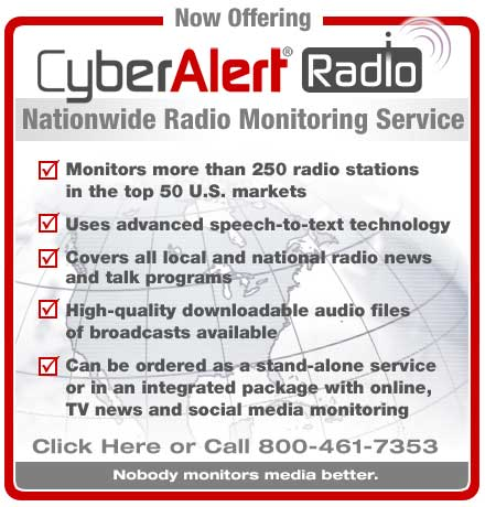 cyberalert radio monitoring