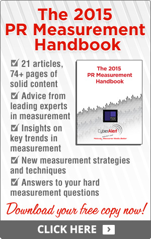 The 2015 PR Measurement Handbook