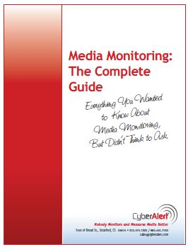 The Complete Guide to Media Monitoring