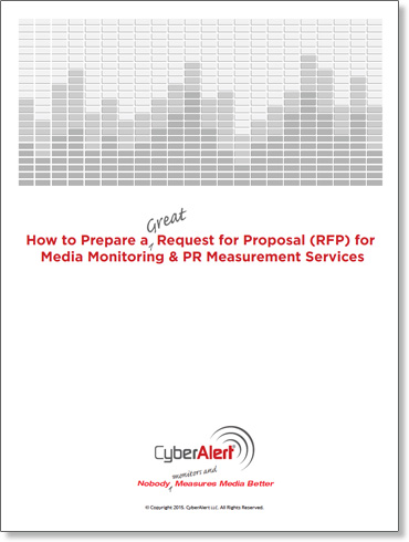 How to Prepare a Great Request for Proposal (RFP) for Media Monitoring & PR Measurement Services