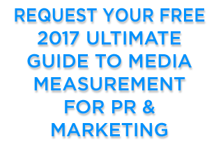 2017 guide to media measurement for pr & marketing