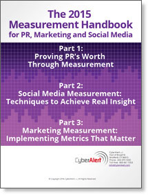The 2015 Measurement Handbook for PR, Marketing and Social Media