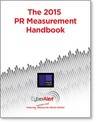 CyberAlert and Paine Publishing Release 2015 Handbook on PR Measurement