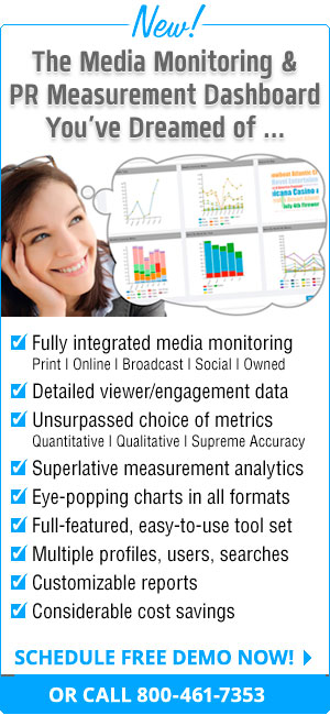 The Media Monitoring & PR Measurement Dashboard Youve Dreamed of