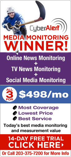 Media Monitoring Winner! 14-day free trial