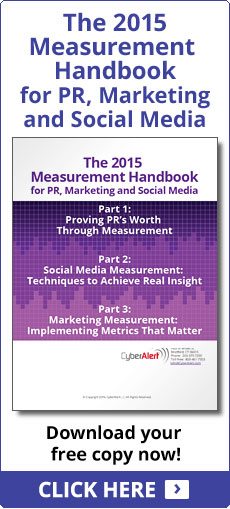 The 2014 Measurement Handbook for PR, Marketing and Social Media