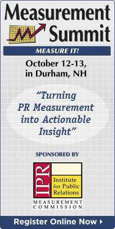 Measurement Summit