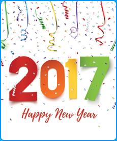Happy New Yeaar 2017