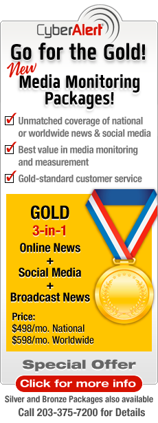 Go for the Gold Media Monitoring Offer