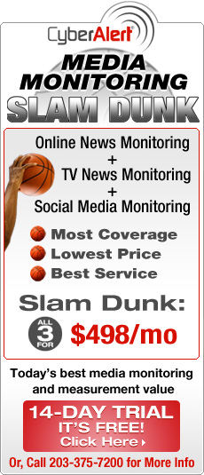 Media Monitoring March Madness Slam Dunk Offer